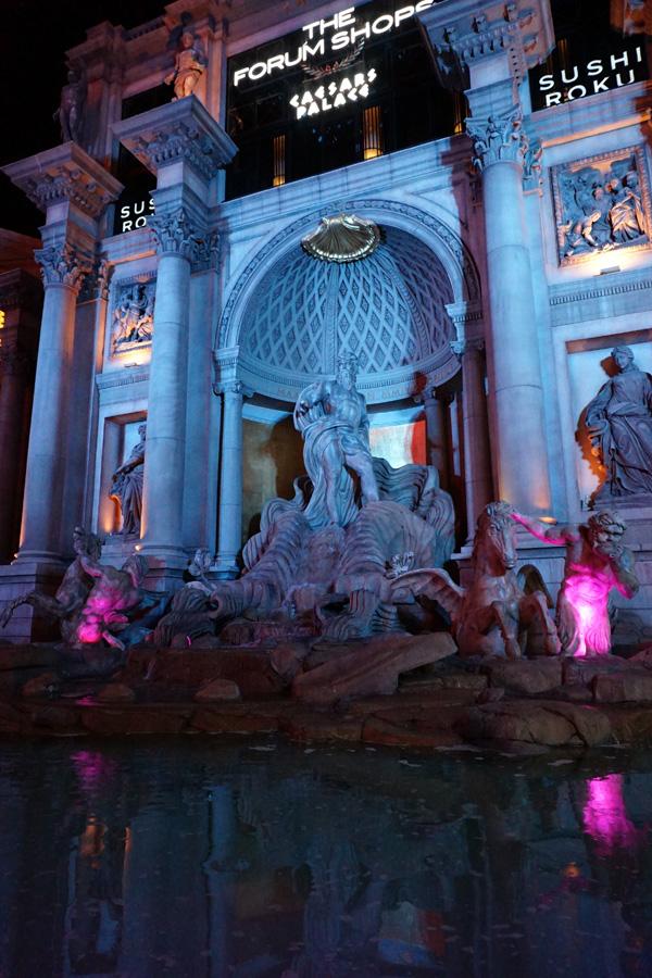 Caesar's Palace, Trevi Fountain, Las Vegas, USA