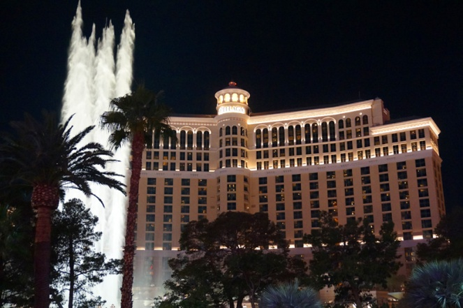 Bellagio fountains, Las Vegas, USA