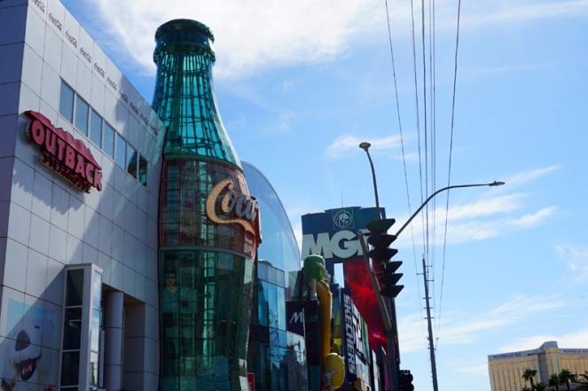 Coca Cola M&M, Las Vegas, USA
