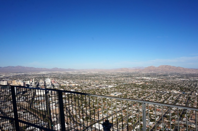 View from the Stratosphere, Las Vegas, USA