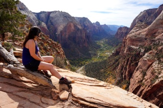 Angel's Landing, Zion National Park, Utah, USA