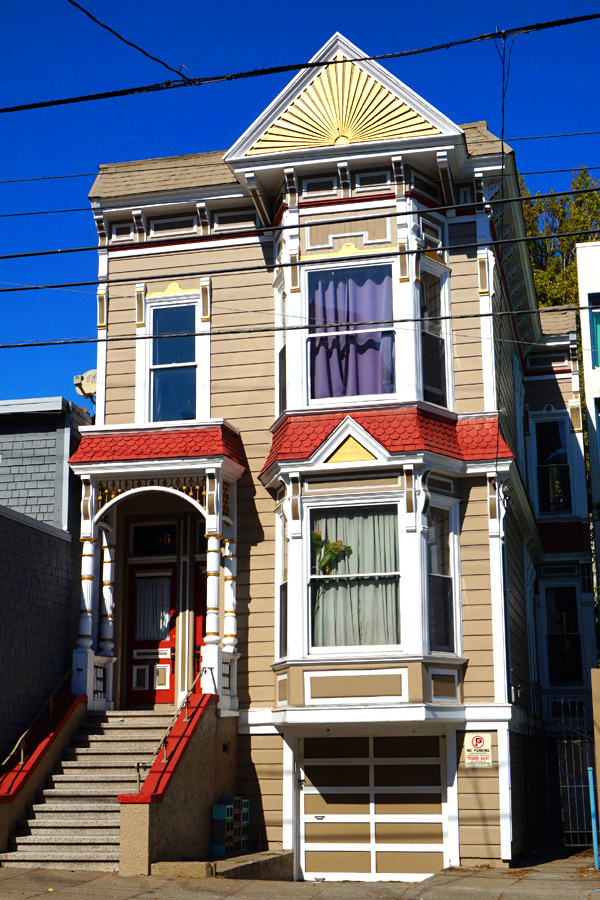 Pretty buildings, houses, San Francisco