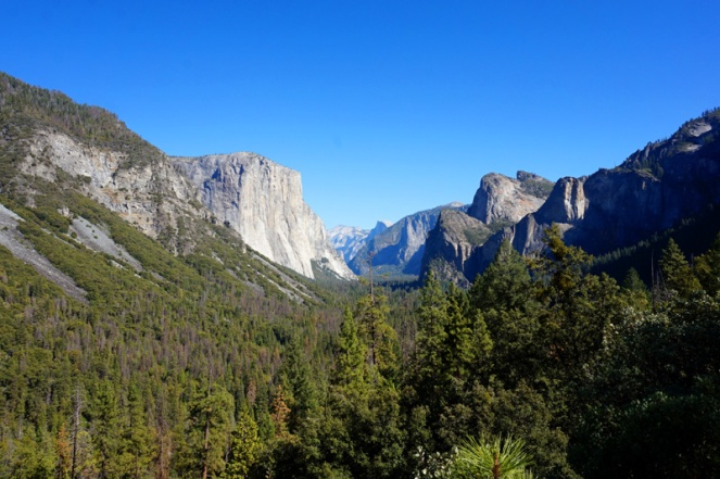 Tunnel View, Yosemite Valley, Yosemite National Park, California, USA