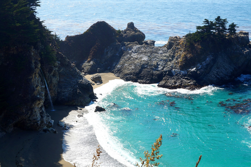 McWay Falls, Big Sur, California, USA