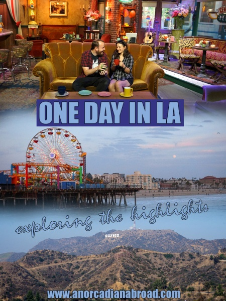 One Day In Los Angeles - explore the highlights including Hollywood, Santa Monica and the Warner Brother's Studio Tour to sit in Central Perk café from Friends!