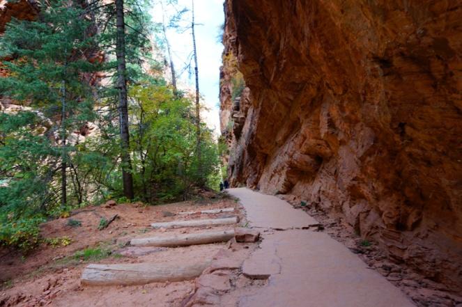 Angel's Landing hike, Zion National Park, USA