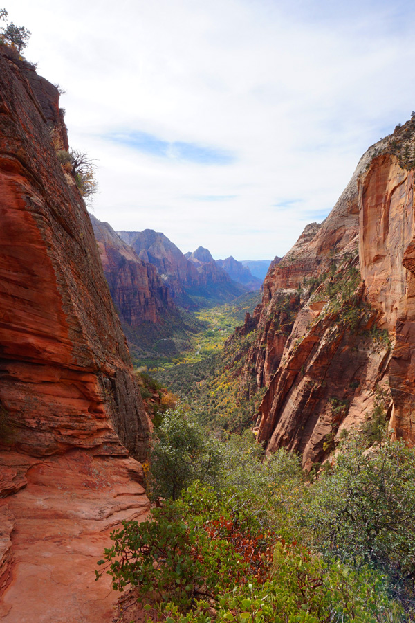 Angel's Landing hike, Zion National Park, USA