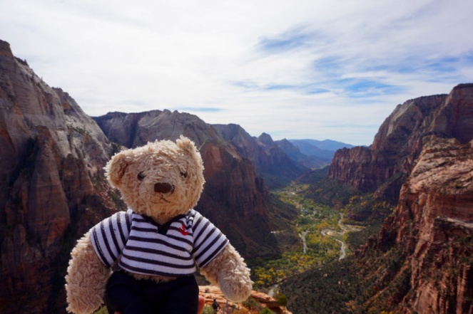 Gulliver at Angel's Landing, Zion National Park, USA