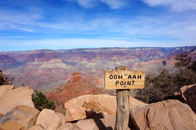 Ooh Aah Point, South Kaibab Trail, Grand Canyon, Arizona, USA