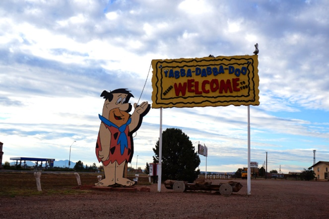 Flintstones Bedrock City, Grand Canyon, Arizona, USA