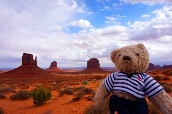 Gulliver at Monument Valley, Utah, USA