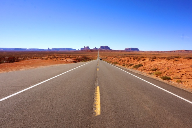 Forrest Gump view, Monument Valley, Utah, USA