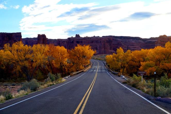 Autumn, Arches National Park, Utah, USA