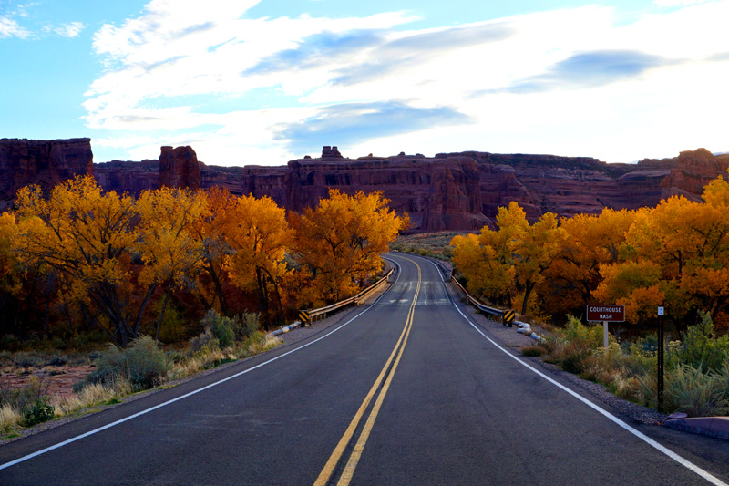 Autumn, Arches National Park, Utah, USA