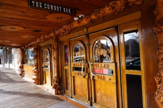 Million Dollar Cowboy Bar, Jackson Hole, Wyoming, USA