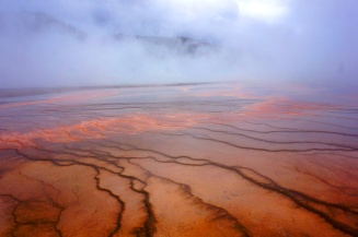 Grand Prismatic Spring, Yellowstone National Park, USA
