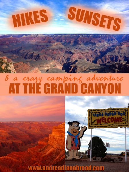 Hikes, Sunsets & A Crazy Camping Adventure at the Grand Canyon, Arizona, USA. Make the most of your time in this iconic national park!