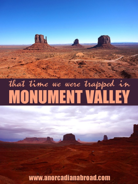 Trapped In Monument Valley - an unforgettable road trip adventure in Utah! Get this park on your USA bucket list stat!