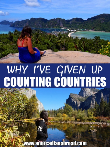 Why I've Given Up Counting Countries