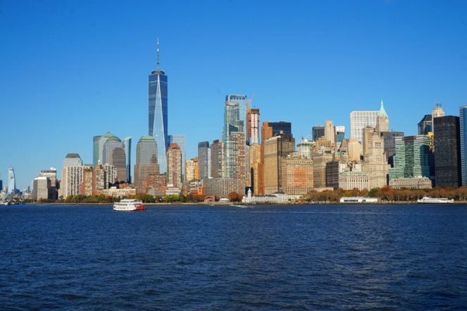 New York City skyline, USA
