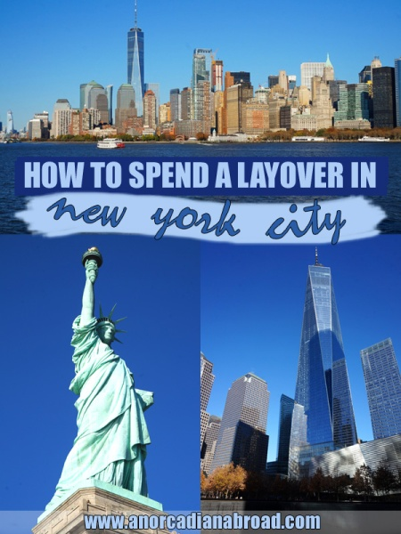 How To Spend A Layover In New York City: make the most of a day trip to the Big Apple with this itinerary!