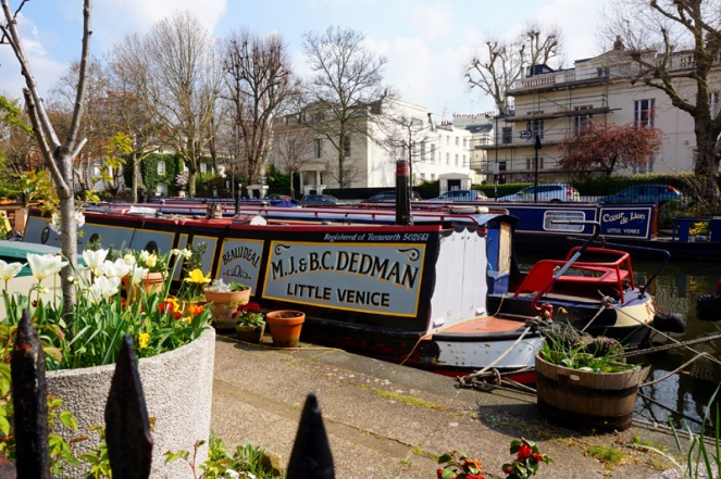 Little Venice to Camden canal walk, London