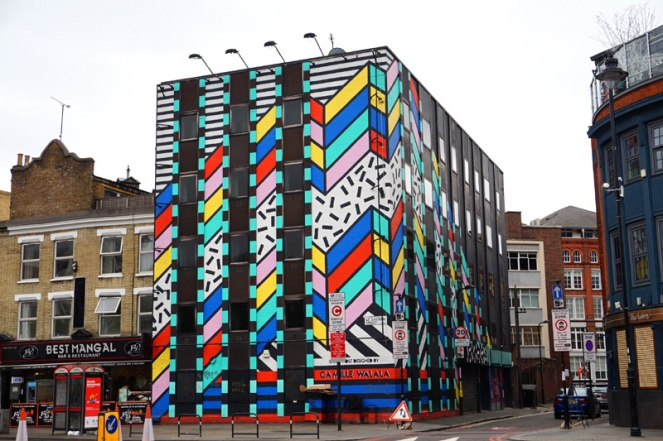 Street art, Shoreditch, London