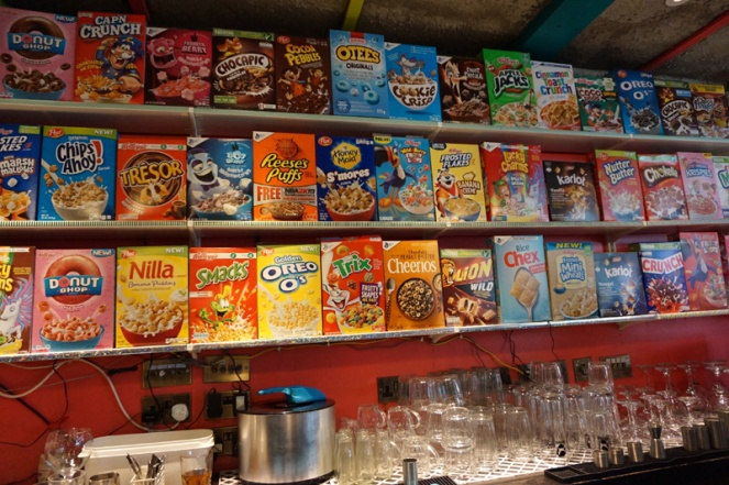 Cereal Killer Cafe, Shoreditch, London