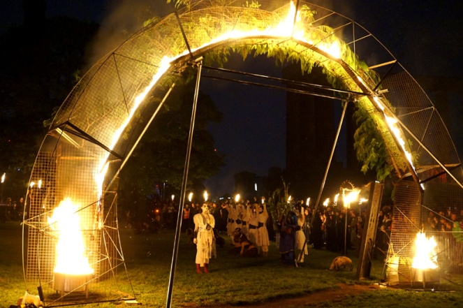 Fire Arch, Beltane Fire Festival, Edinburgh