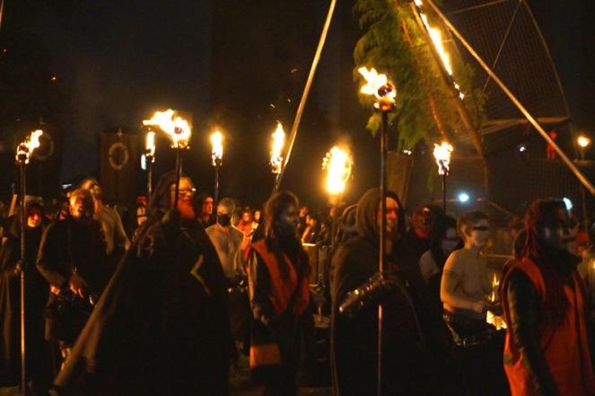 Procession, Beltane Fire Festival, Edinburgh