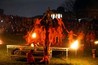 Red & Green Man, Beltane Fire Festival, Edinburgh