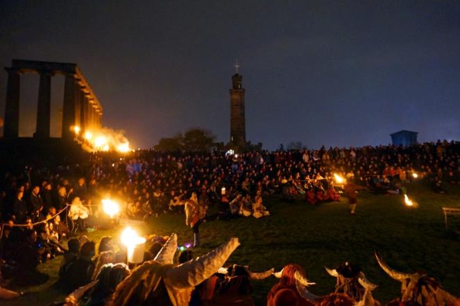 Calton Hill, Beltane Fire Festival, Edinburgh