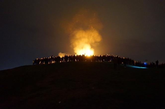 Bonfire, Beltane Fire Festival, Edinburgh