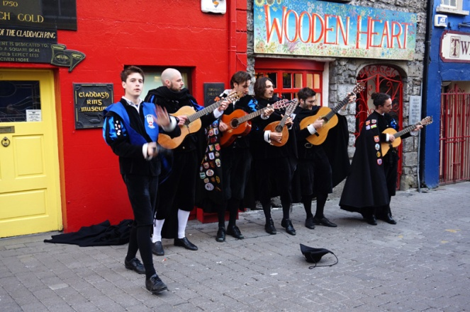 Buskers, Galway, Ireland