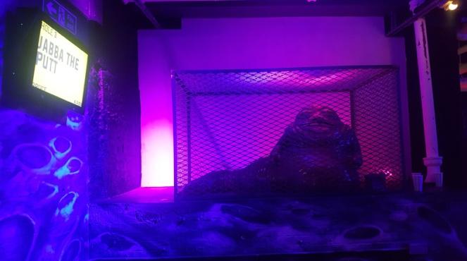 Jabba The Putt, Junkyard Golf Club, London