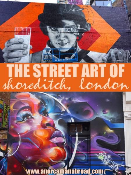 The Street Art Of Shoreditch, London
