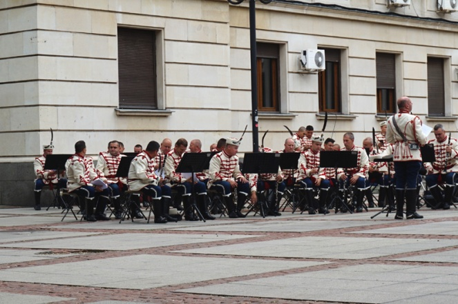 Military band, Sofia, Bulgaria