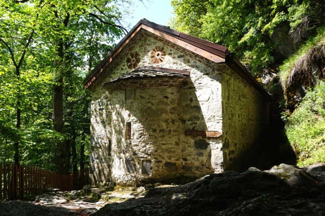 St Luke's Hermitage church, Rila, Bulgaria