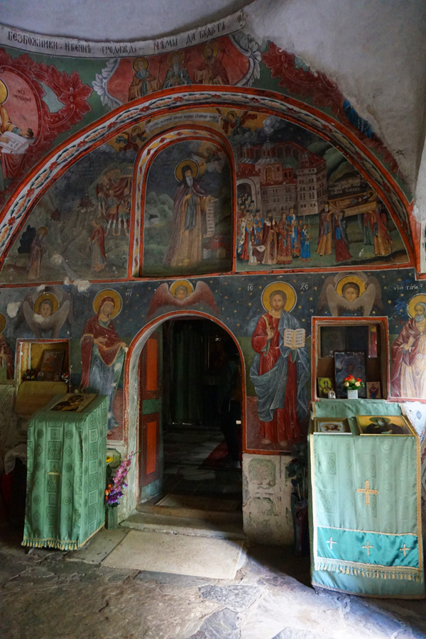 St Luke's Hermitage church, Rila, Bulgaria