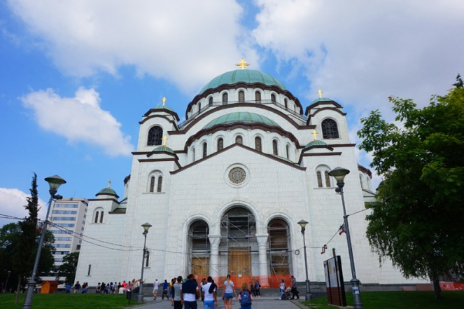 Saint Sava church, Belgrade, Serbia