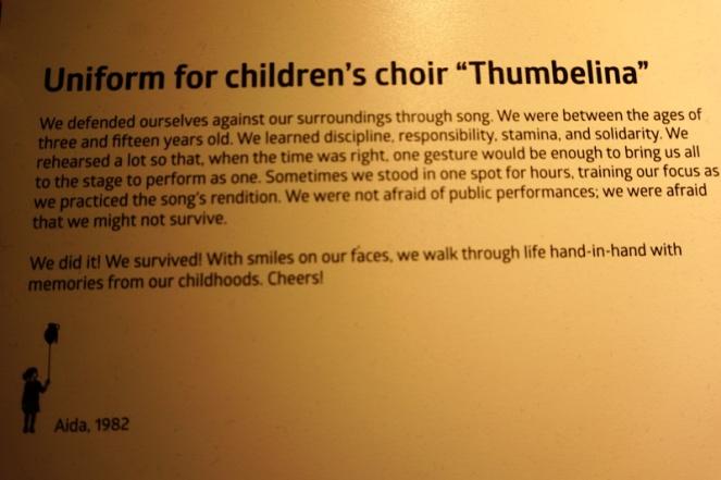 Thumbelina story, War Childhood Museum, Sarajevo, Bosnia & Herzegovina