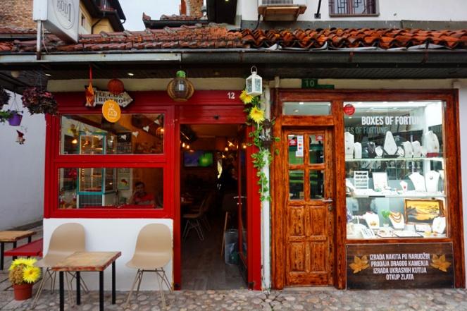 Cafe, Sarajevo, Bosnia & Herzegovina