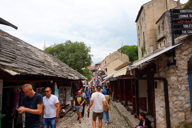 Mostar markets, Mostar, Bosnia & Herzegovina