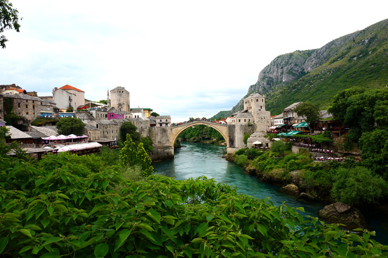 Stari Most bridge, Mostar, Bosnia & Herzegovina
