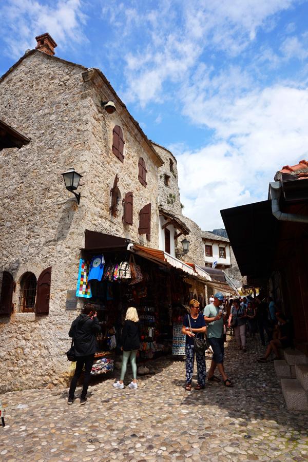 Mostar market, Mostar, Bosnia & Herzegovina