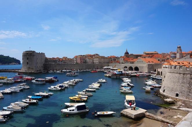 Port, Dubrovnik, Croatia