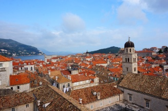 View from the city walls, Dubrovnik, Croatia