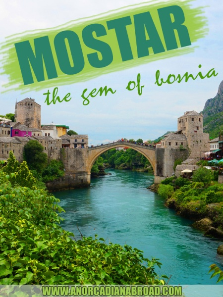 Mostar: The Gem Of Bosnia. #europe #bosnia #travel