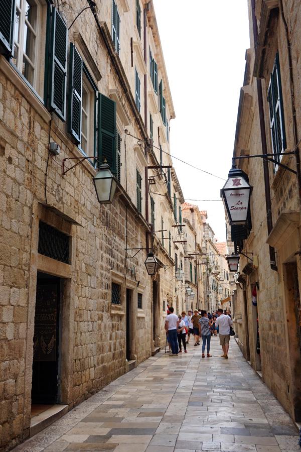 Alleyway, Dubrovnik, Croatia