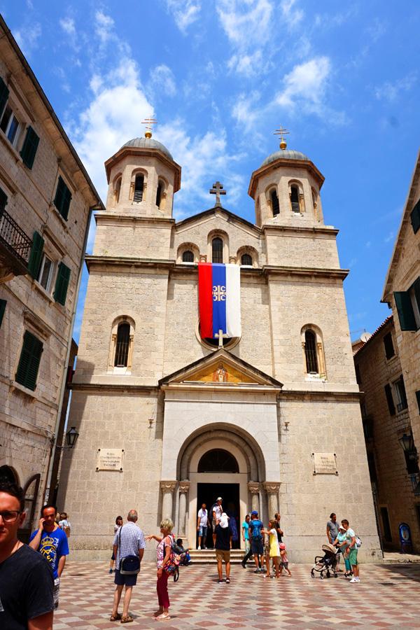 St Nicholas Church, Kotor, Montenegro